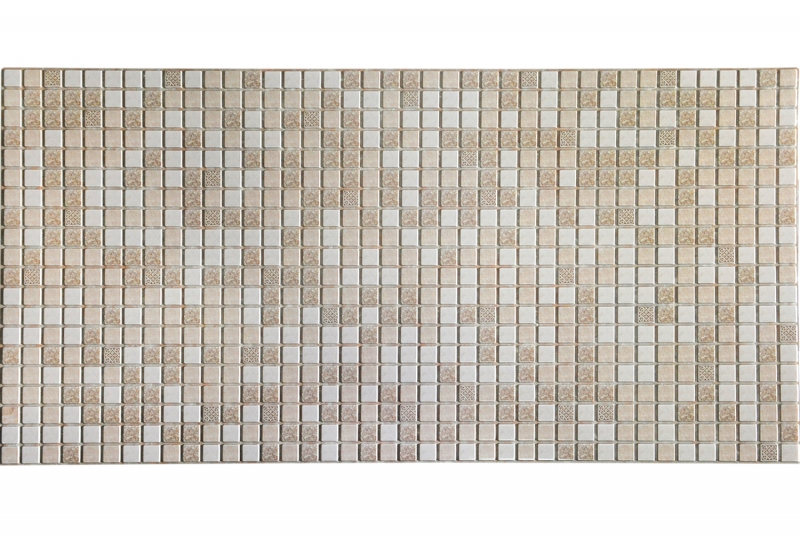 PVC panel TP10009499 Mosaic brown with patterns
