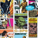 70-573 Star Wars pop art collage oбои