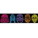 101386 Star Wars Neon Head бордюр