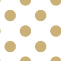 100105 Gold Dotty tapete