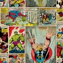 70-264 Marvel Comic strip oбои
