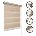 02 Roller blinds D&N / beige